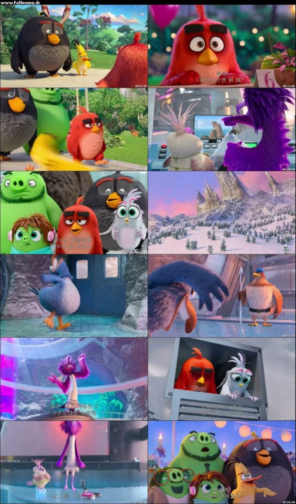 The Angry Birds 2 Movie 2019 Spoke Right